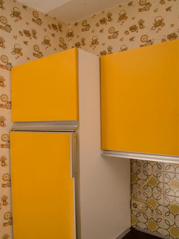 70er jahre vintagek che orange inkl ger te retro siematic ebay. Black Bedroom Furniture Sets. Home Design Ideas